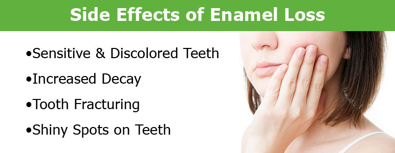 Side Effects of Enamel Loss