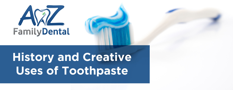 toothpaste history banner