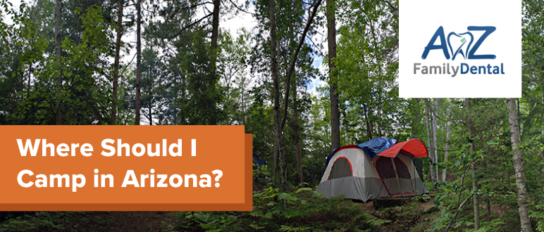 camping in arizona header