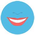 denture cleaning icon