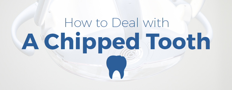 how to deal with chipped tooth